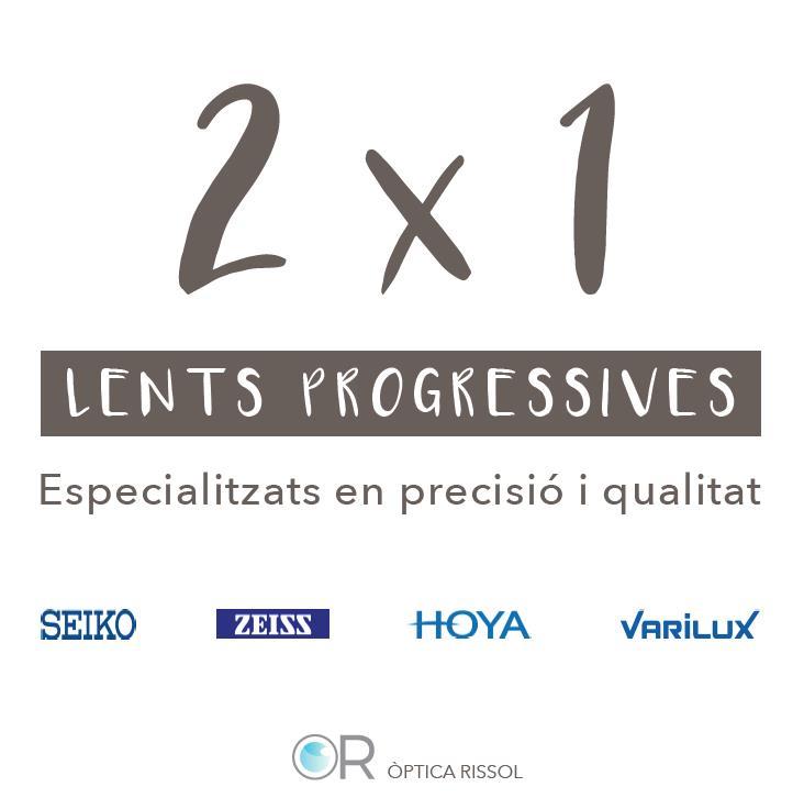 2X1 Lents progressives